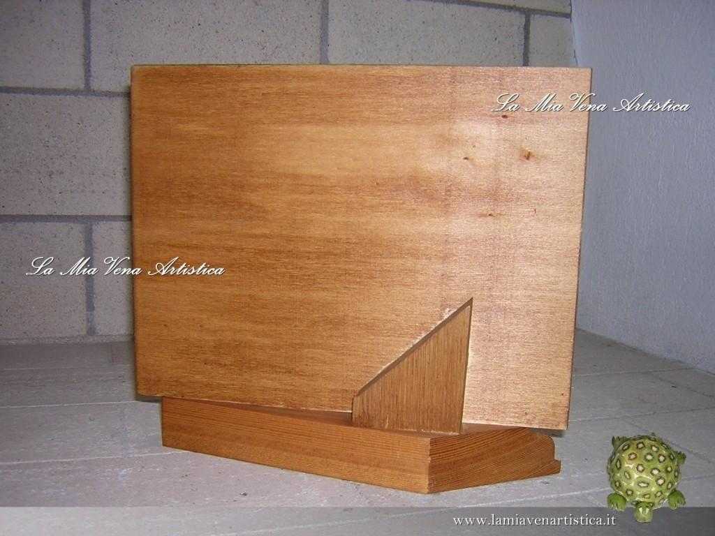 Portaritratti artigianali for Portaritratti legno